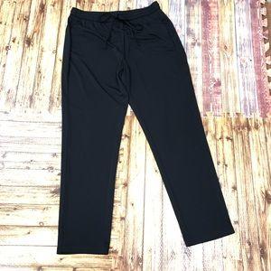 DKNY medium black elastic waist band pants